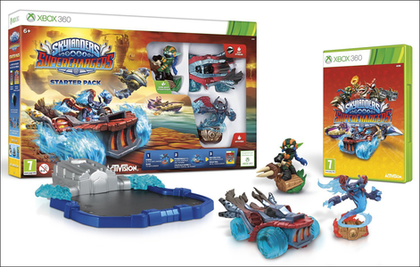 Videogioco Skylanders SuperChargers Starter Pack Xbox 360 6