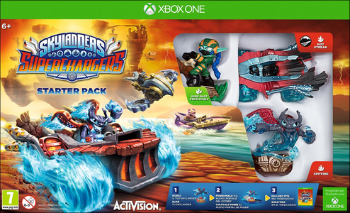Videogioco Skylanders SuperChargers Starter Pack Xbox One 0