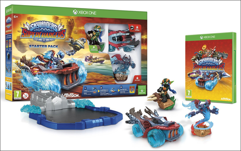 Videogioco Skylanders SuperChargers Starter Pack Xbox One 6