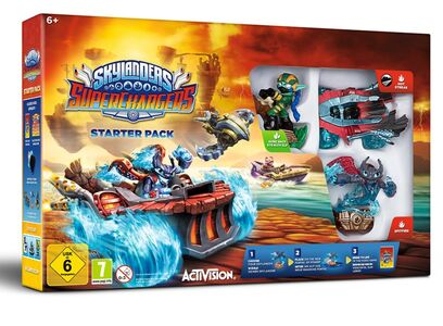 Giocattolo Skylanders SuperChargers Starter Pack Activision Blizzard