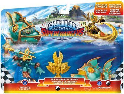 Videogioco Skylanders SuperChargers Racing Pack Sea Wave Nintendo Wii U
