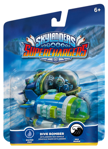 Videogioco Skylanders SuperChargers Dive Bomber Nintendo Wii U 0