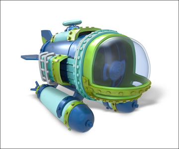 Videogioco Skylanders SuperChargers Dive Bomber Nintendo Wii U 1