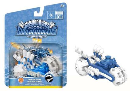 Skylanders Vehicle Blue Gold Rusher (SC) - 2