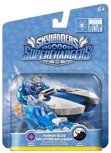 Skylanders Vehicle Blue Splatter Splasher (SC)