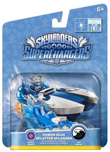 Videogioco Skylanders Vehicle Blue Splatter Splasher (SC) Nintendo Wii U 0