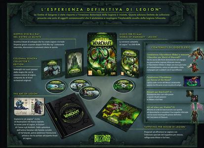 Videogioco World of Warcraft: Legion Collector's Edition - PC Personal Computer 2
