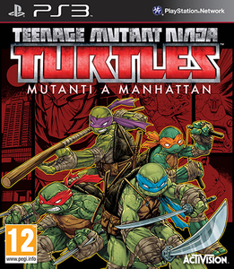 Videogioco T.M.N.T. Mutanti a Manhattan - PS3 PlayStation3