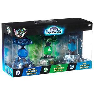 Skylanders Imaginators Crystal 3 Pack. Water + Air + Life