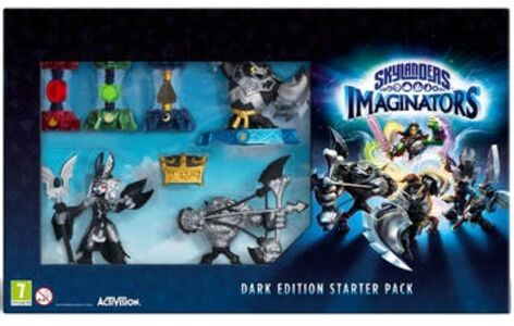 Videogioco Skylanders Imaginators Starter Pack Dark Edition - PS4 PlayStation4
