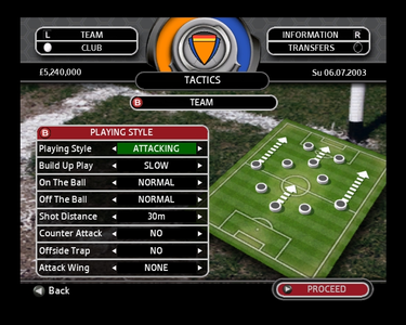 Videogioco Total Club Manager 2004 Xbox 4