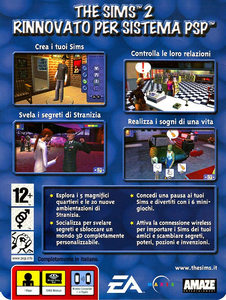 Videogioco Essentials The Sims 2 Sony PSP 10