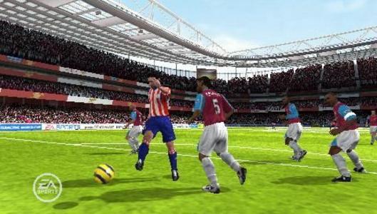 Videogioco FIFA 07 Sony PSP 3