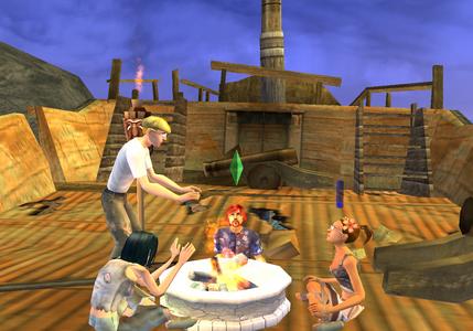 Videogioco Sims 2 Island PlayStation2 2
