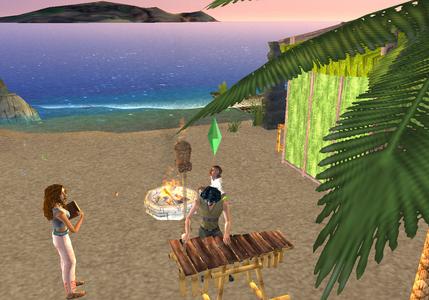 Videogioco Sims 2 Island PlayStation2 7