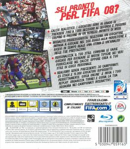 Videogioco FIFA 08 PlayStation3 10