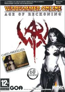 Warhammer Online. Carte Pre-Pagate