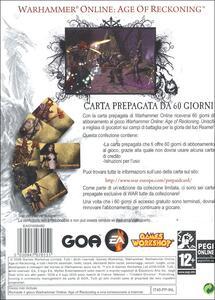Warhammer Online. Carte Pre-Pagate - 2