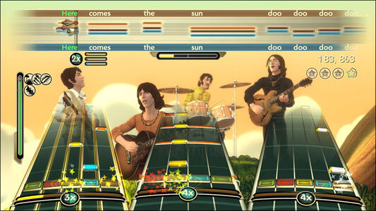The Beatles Rockband - X360 - 4