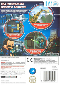 Videogioco MySims Agents Nintendo WII 10