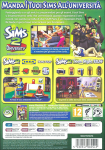 Videogioco Sims 2 University Life Collection Personal Computer 1