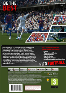 Videogioco FIFA Football PS Vita 9