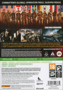 Videogioco Medal of Honor: Warfighter Xbox 360 9
