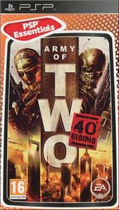 Videogioco Essentials Army of Two: Il 40 Giorno Sony PSP 0