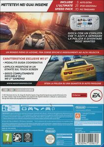 Videogioco Need for Speed: Most Wanted Nintendo Wii U 10