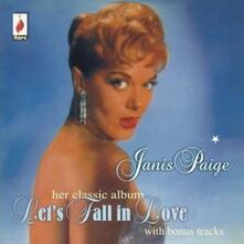 Let's Fall in Love - CD Audio di Janis Paige