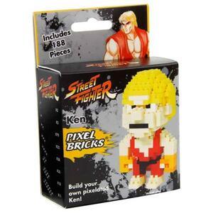 Gioco di Costruzione Street Fighter. Pixel Bricks Ken - 2