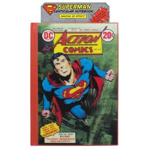 Cartoleria Quaderno Dc Comics. Superman 3d Lenticular Notebook Paladone