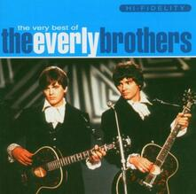 Very Best of Everly Brothers - CD Audio di Everly Brothers