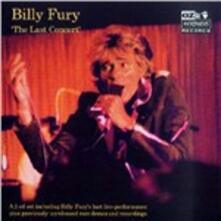 Last Concert - CD Audio di Billy Fury