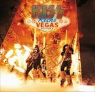 Kiss Rocks Vegas - CD Audio + DVD + Blu-ray di Kiss