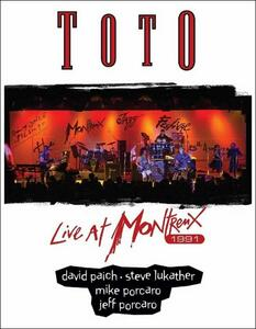 Toto. Live At Montreux 1991 - DVD