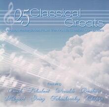 25 Classical Greats - CD Audio