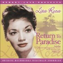 Return To Paradise - CD Audio di Lita Roza