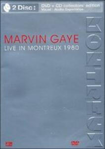 Live in Montreux - CD Audio + DVD di Marvin Gaye