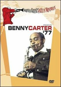 Benny Carter. '77. Norman Granz Jazz in Montreux - DVD