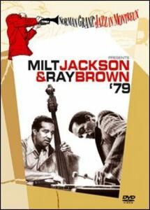 Milt Jackson & Ray Brown. '79. Norman Granz Jazz in Montreux - DVD