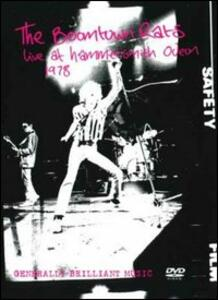 The Boomtown Rats. Live At Hammersmith Odeon 1978 - DVD