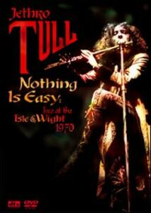 Jethro Tull. Nothing Is Easy. Live at the Isle of Wight 1970 - DVD