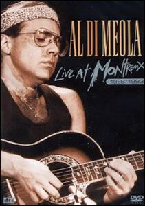 Al Di Meola. Live At Montreaux 1986-93 - DVD