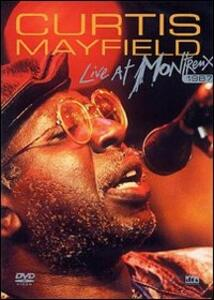 Curtis Mayfield. Live at Montreaux 1987 - DVD