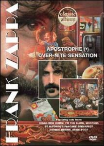 Frank Zappa. Classic Albums. Apostrophe - Over-Nite Sensation - DVD