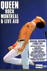 Film Queen. Rock Montreal & Live Aid (2 DVD)