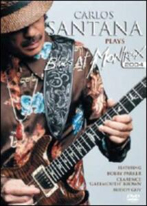 Carlos Santana Plays Blues at Montreux 2004 - DVD