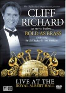 Cliff Richard. Bold as Brass. Live at the Royal Albert Hall - DVD