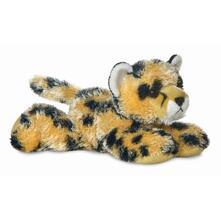 Occhioni Peluche Aurora Animale Savana Sdraiato Streak Cheetah 15 Cm